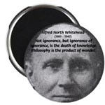 Whitehead Education Quote Magnet