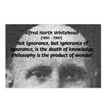 Whitehead Education Quote Postcards (Package of 8)