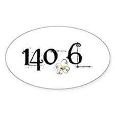 140.6 Daisey Design Decal