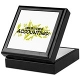 I ROCK THE S#%! - ACCOUNTING Keepsake Box