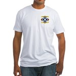 30th Arkansas Infantry Fitted T-Shirt