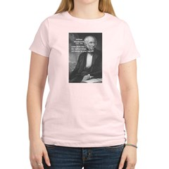 Nature Wordsworth Poetry Women's Pink T-Shirt