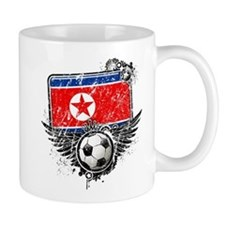 Soccer Fan North Korea Mug