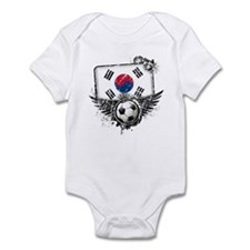 Soccer Fan South Korea Infant Bodysuit