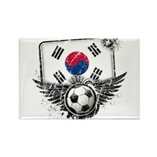 Soccer Fan South Korea Rectangle Magnet