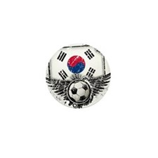 Soccer Fan South Korea Mini Button