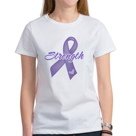 Strength Hodgkins Lymphoma Women's T-Shirt