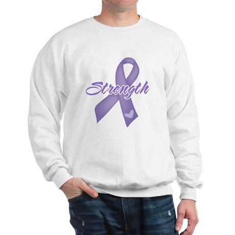 Strength Hodgkins Lymphoma Sweatshirt
