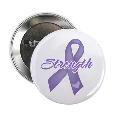 "Strength Hodgkins Lymphoma 2.25"" Button (100 pack)"