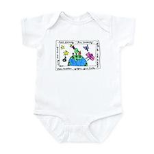 Love Fiercely Infant Bodysuit