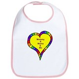 Mommy and Mama and Me Bib
