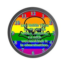 Leviticus 18:22 Wall Clock