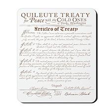 Twilight Cullen Treaty Mousepad