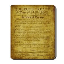 Twilight Cullen Treaty Mousepad
