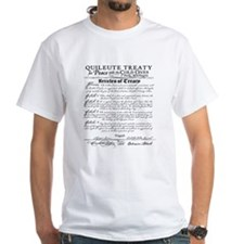 Twilight Cullen Treaty White T-Shirt