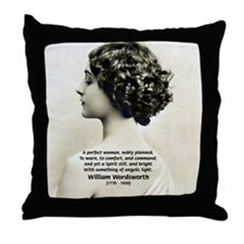 Wordsworth Vintage Erotica Throw Pillow