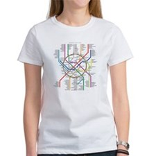 Moscow Metro Map Tee