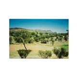 Alice Springs Landscape Rectangle Magnet
