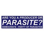 Are You a Producer or Parasite? (Bumper 10 pk)