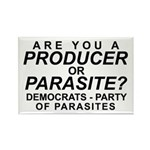Are You a Producer or Parasite? Rectangle Magnet