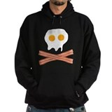 Eggs Bacon Skull Hoodie