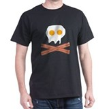 Eggs Bacon Skull Tee-Shirt