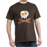 Eggs Bacon Skull T-Shirt