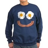 Eggs Bacon Smiley Sweatshirt