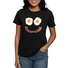 Eggs Bacon Smiley Tee