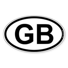 GB - Great Britian Decal
