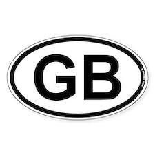 GB - Great Britian Decal