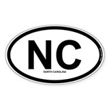 NC - North Carolina Decal