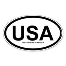 USA - United States of America Decal