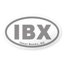 IBX Euro Oval Decal