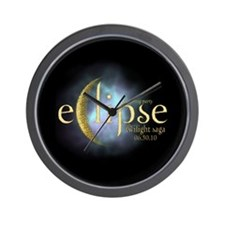 Twilight Saga Eclipse by UTeezSF.com Wall Clock