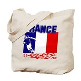 French Soccer Tote Bag