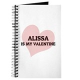 Alissa Is My Valentine Journal