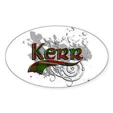 Kerr Tartan Grunge Decal