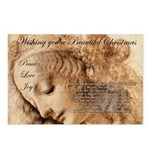 Christmas Shakespeare Da Vinci Postcards (Package