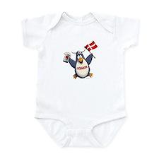 Denmark Penguin Infant Bodysuit