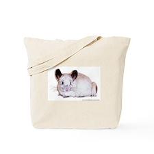 White Mosaic Tote Bag