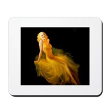 Blonde Pin-Up Mousepad