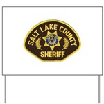 Salt Lake County Sheriff Yard Sign