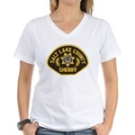 Salt Lake County Sheriff Women's V-Neck T-Shirt