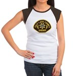 Salt Lake County Sheriff Women's Cap Sleeve T-Shir