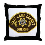 Salt Lake County Sheriff Throw Pillow