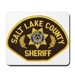 Salt Lake County Sheriff Mousepad