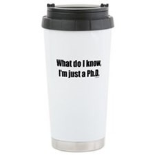 WDIK PhD Ceramic Travel Mug
