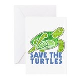 Save the Turtles Greeting Cards (Pk of 10)
