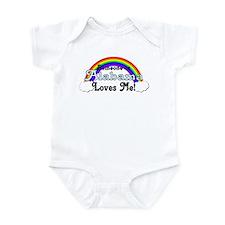 Someone in Alabama Loves Me Infant Bodysuit